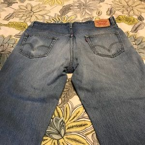 Levi relaxed fit 550s